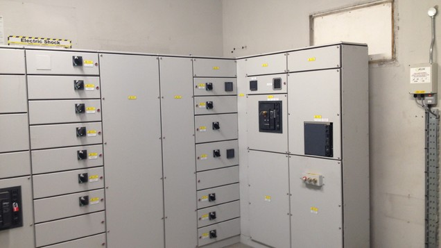 new hospital main switchboard