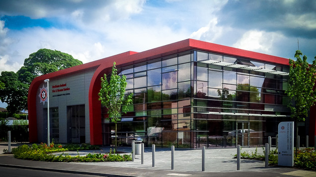 Omagh Fire Station Opening Caldwell Consulting