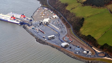 Loch Ryan Port