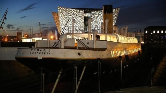 Ss Nomadic Refurbishment Titanic Quarter Belfast