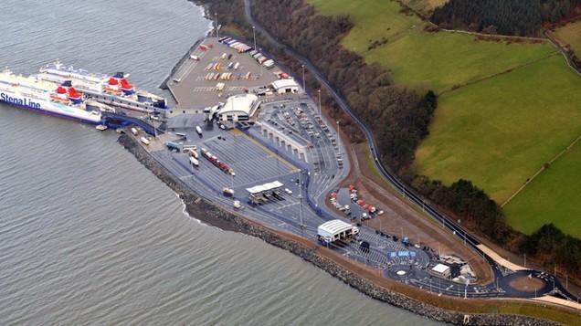 Loch Ryan Port Cairnryan For Stena Line New Port